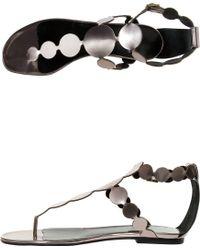 Pierre Hardy Flat Sandals - Lyst