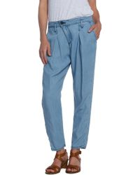 Dwp Drew Crop Pants - Lyst