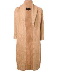 Derek Lam Shawl Collar Cardigan Coat - Lyst