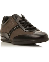 BOSS | Space Select Suede Wingtip Trainers | Lyst