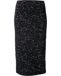 Proenza Schouler Splatter Print Pencil Skirt - Lyst