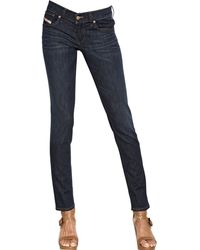 Diesel Slim Getlagg Stretch Denim Jeans - Lyst
