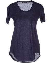 Damir Doma T-Shirt blue - Lyst