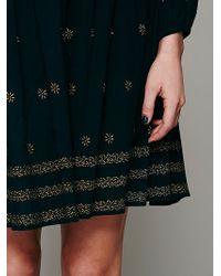 Intimately - Shayanti Smocked Robe - Lyst