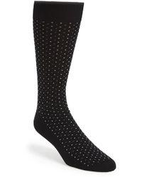 Canali Dot Socks - Lyst