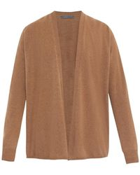 Christophe Lemaire Brown Cashmere Cardigan - Lyst