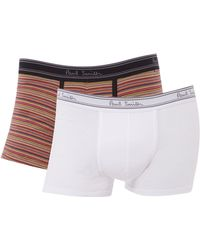 Paul Smith 2 Pack Multistripe and Plain Trunk - Lyst