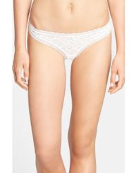 Free People 'Dream' Thong - Lyst
