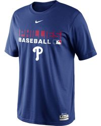 Nike Mens Philadelphia Phillies Authentic Collection Drifit Legend Team Issue Tshirt - Lyst