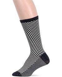 Ralph Lauren Big Chevron Print Trouser Socks - Lyst