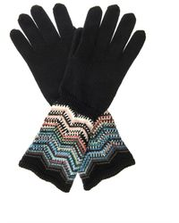 Missoni Woolblend Gloves - Lyst
