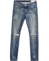 Rag & Bone Denim Pants blue - Lyst