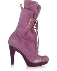 Vivienne Westwood - Suede Boots - Lyst