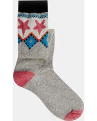Cath Kidston - Fair Isle Gumboot Socks - Lyst