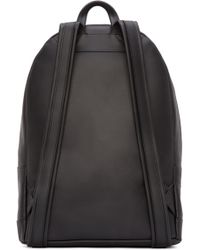 PB 0110 - Black Leather Ca 6 Backpack - Lyst
