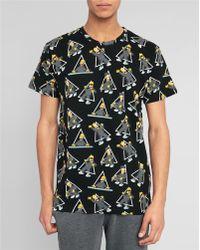 Eleven Paris Black Homer Print T-Shirt - Lyst