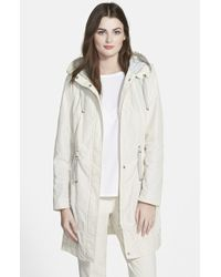 Rainforest - Packable Hooded Anorak, Ivory - Lyst