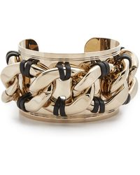 Pluma - Leather Cuff Bracelet - Lyst