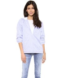 Harvey Faircloth - Striped Hoodie - Lyst
