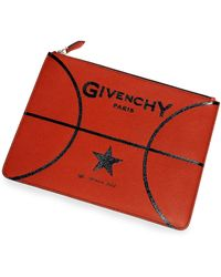 Givenchy Basketball Leather Pouch - Lyst
