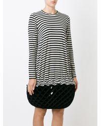 Junya Watanabe - Rhombus Printed Dress - Lyst