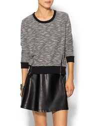 Ella Moss Boucle Pullover - Lyst