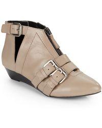 Kelsi Dagger Babilonia Buckle Ankle Boots - Lyst