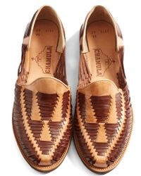 Chamula - 'cancun' Woven Loafer - Lyst