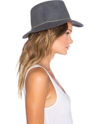 Lovely Bird - San Miguel Single Silver Wrap Hat - Lyst