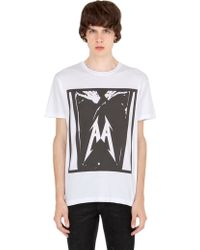 All Apologies - Printed Cotton Jersey T-shirt - Lyst