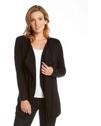 Karen Kane Cuff Sleeve Drape Jacket - Lyst