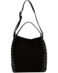 CoSTUME NATIONAL - Studded Bucket Tote - Lyst