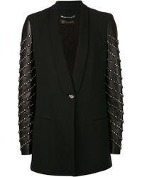 Versace Jewel Sleeve Blazer - Lyst