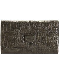 Kenneth Cole Reaction Mercer Street Flap Clutch - Lyst