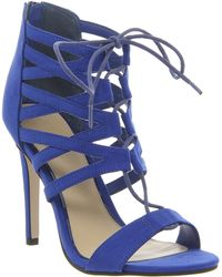 Office Popsicle Ghillie Lace Strappy Heel - Lyst