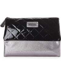 Kenneth Cole Reaction | Kenneth Cole Black & Pewter Pyramid Travel Case | Lyst