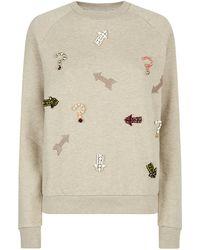 Stella McCartney Mixed Patches Sweatshirt - Lyst