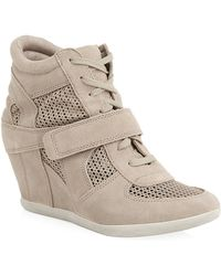 Ash Bowie Mesh Wedge Trainer - Lyst