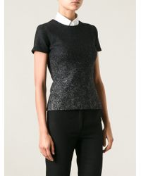DSquared2 Fitted Top - Lyst