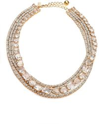 Kate Spade Draped Jewels Multi-Strand Necklace - Lyst