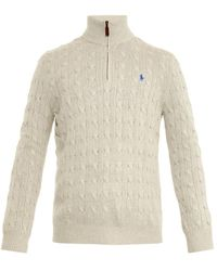 Polo Ralph Lauren Cable-Knit Sweater - Lyst