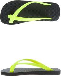 Danward Cross Toe Luxe Flip Flop - Lyst