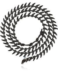 Colana - Limited Edition Leather Wrap Bracelet - Lyst