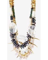 Lizzie Fortunato Exclusive Excess and Elegance Necklace - Lyst