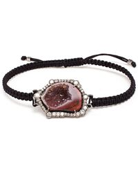 Kimberly Mcdonald - Geode, Black Rhodium And Diamond Bracelet - Lyst
