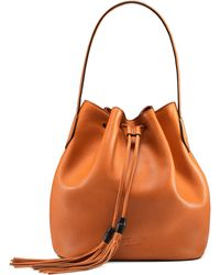 Gucci Lady Tassel Medium Bucket Bag - Lyst