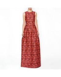 Erdem Bayleigh Gown Neon Pink - Lyst