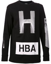 Hood By Air Front Graphic Tshirt - Lyst