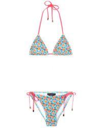 Marc By Marc Jacobs - Mini Jerry Rose-Print Bikini - Lyst