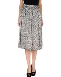 Alice San Diego - 3/4 Length Skirt - Lyst